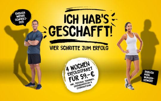 """POSITION Marketingkampagne """"Ich hab's geschafft"""""""